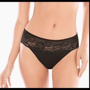NWT black panties.   Vanishing Edge collection.